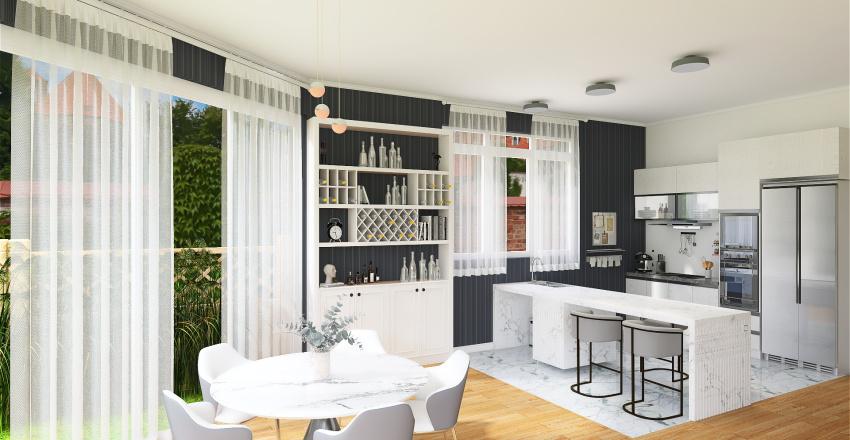 modern elegence Interior Design Render