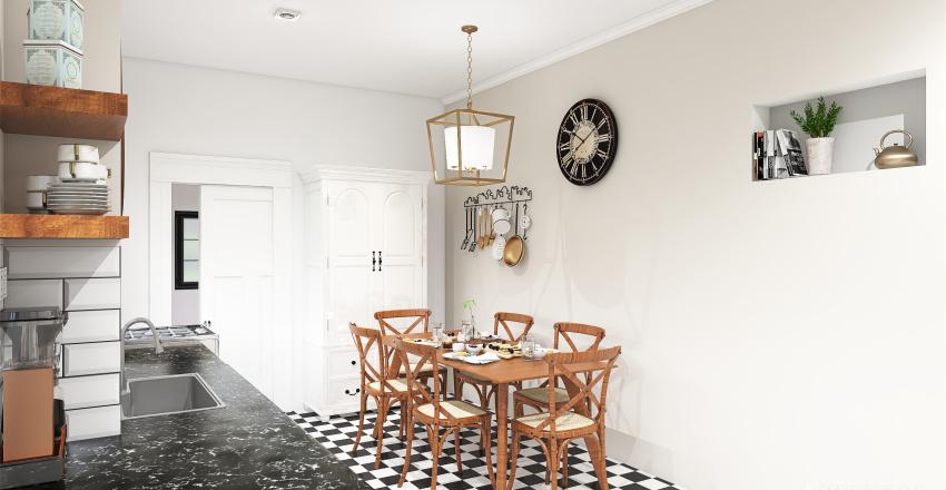 cocina campo Interior Design Render