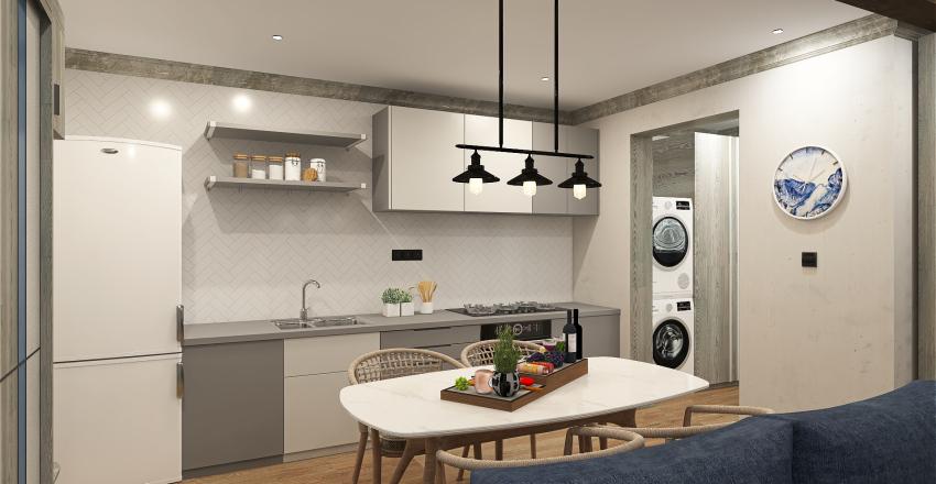 65 Sqm Interior Design Render