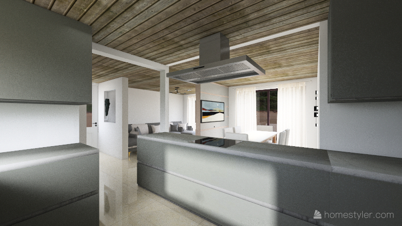 Cocina Julio Interior Design Render