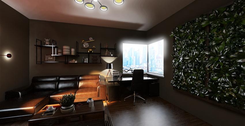 16x16 room Interior Design Render