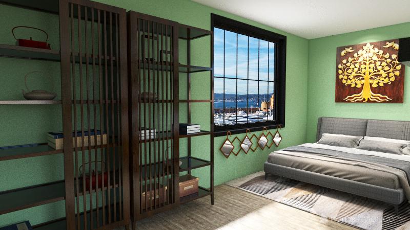 Macha Green Interior Design Render