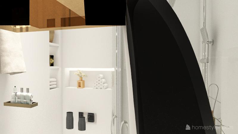 Copy of 2 Однокомнатная квартира Interior Design Render