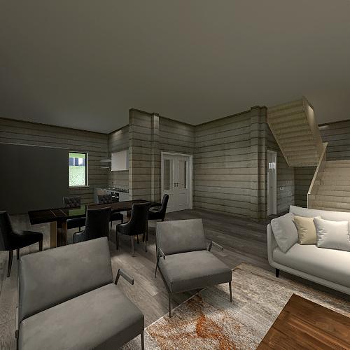 Copy of Мой дом Interior Design Render
