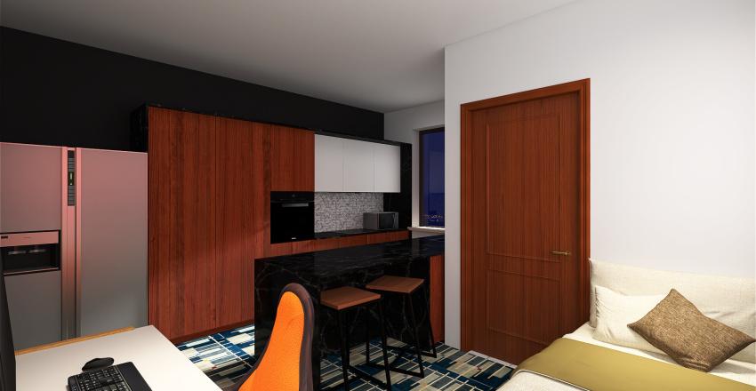 Maximize profit. Minimize Quality of life. Interior Design Render