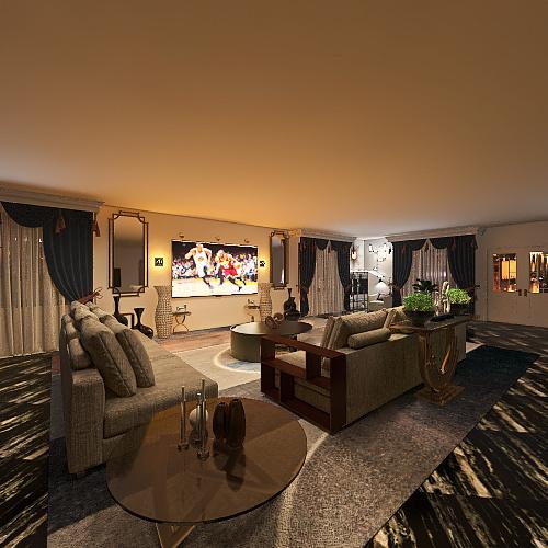 lux life Interior Design Render