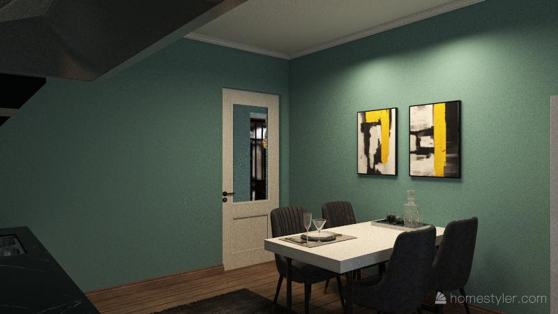 3+1 EV Interior Design Render