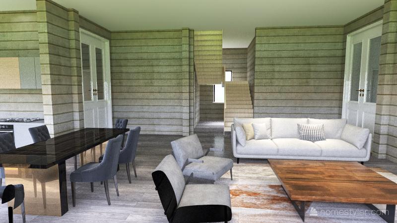 деревянный дом испр 5.10. Interior Design Render