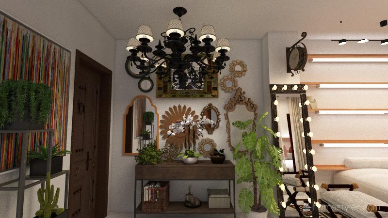 Tarina Boutique Interior Design Render