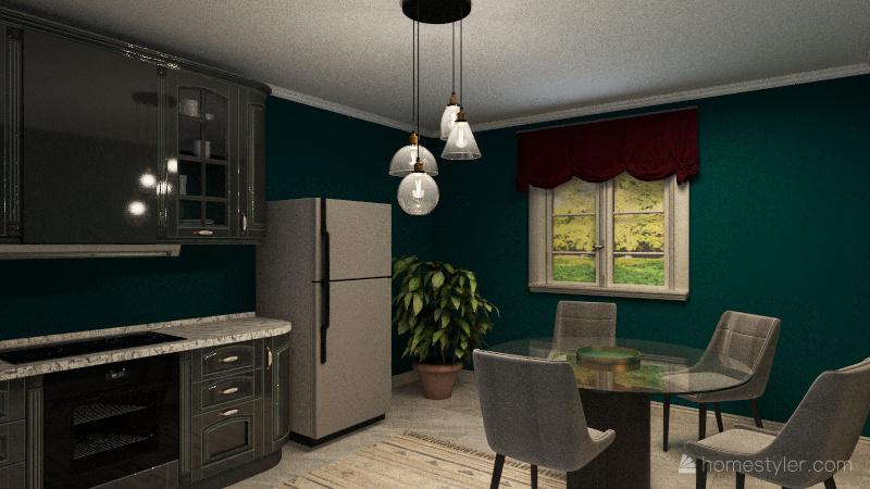 4+1  EV Interior Design Render