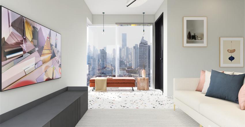 Apê. Interior Design Render