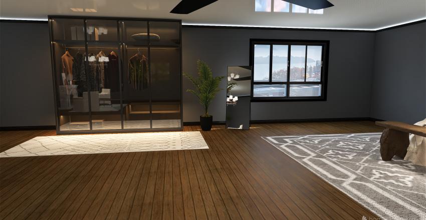 Med. house Interior Design Render