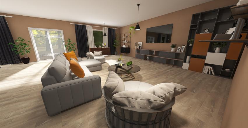 House 3 Interior Design Render