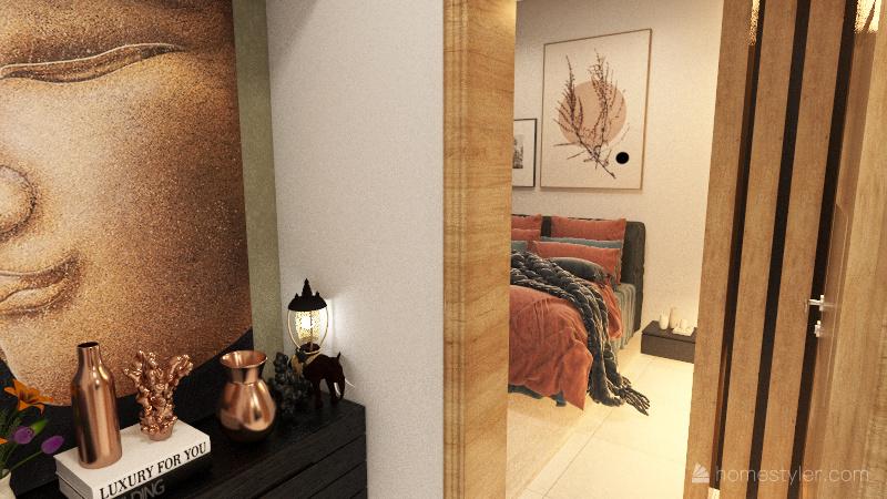 Casa Aimoré Interior Design Render