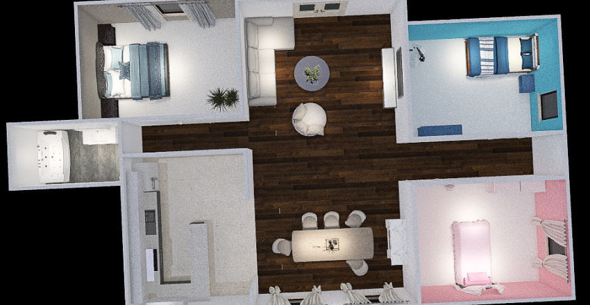 Family House by Rainey Interior Design Render