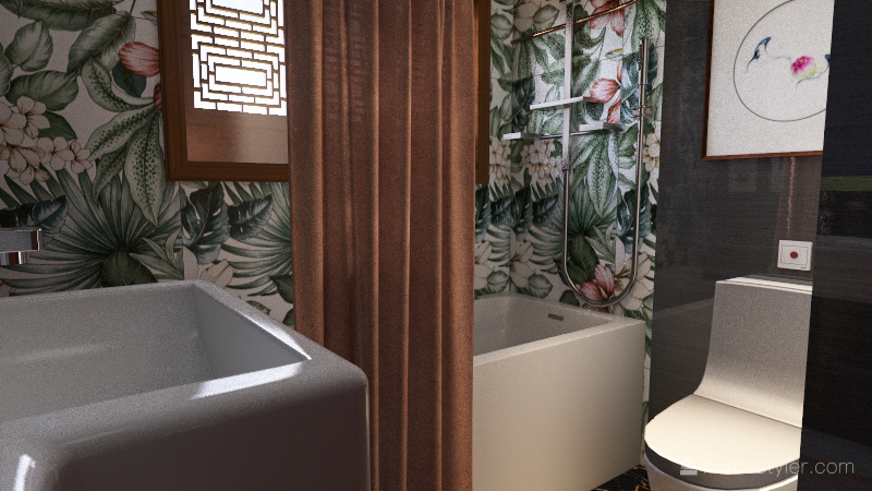 re bathrooming Interior Design Render