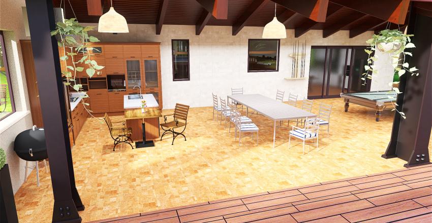 chácara Interior Design Render
