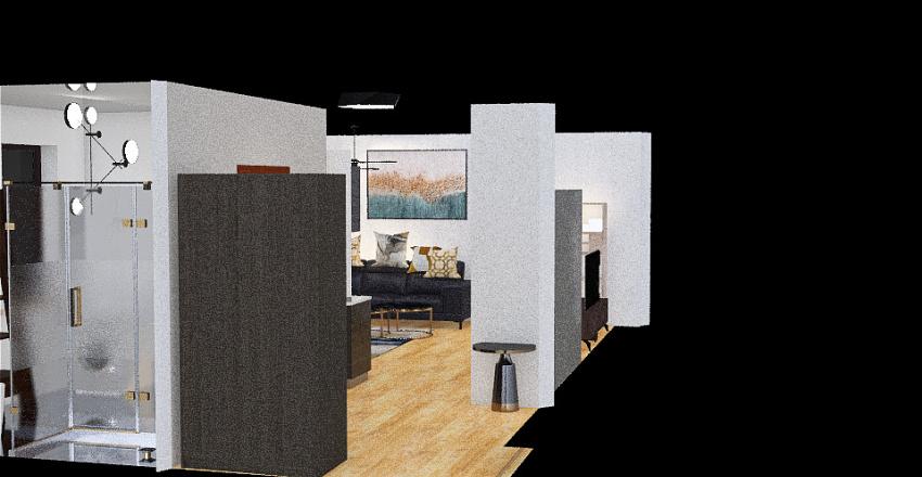 Chorzów Batorego m1 Interior Design Render