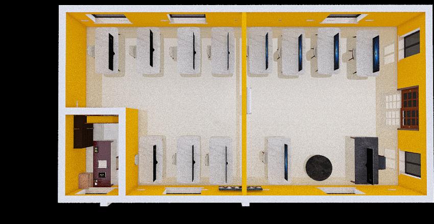 SalondeSYMEC Interior Design Render