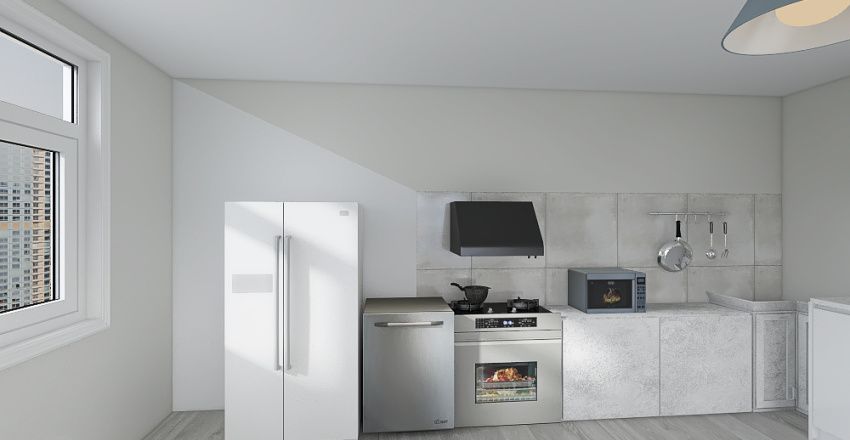 kitchen design Interior Design Render