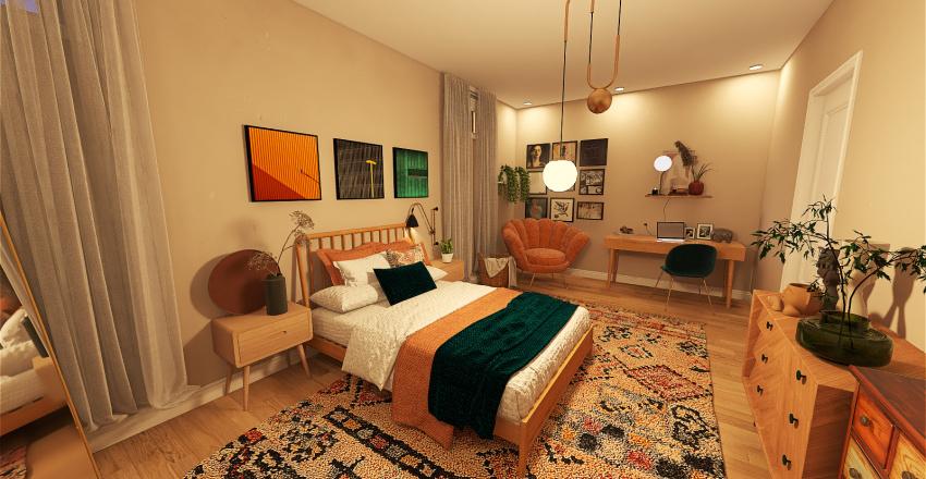 Vibrant Interior Design Render