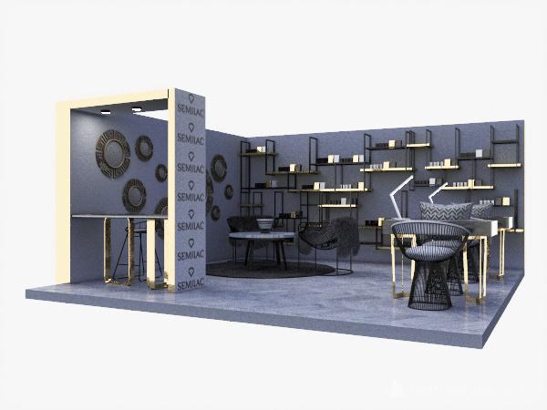STOISKO TARGOWE Interior Design Render