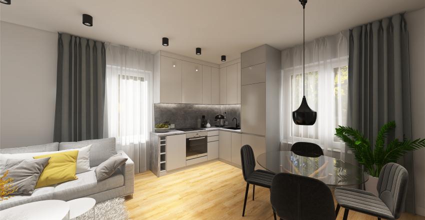 Damrota 15_3 - flip dla rodziny - ver 4 Interior Design Render