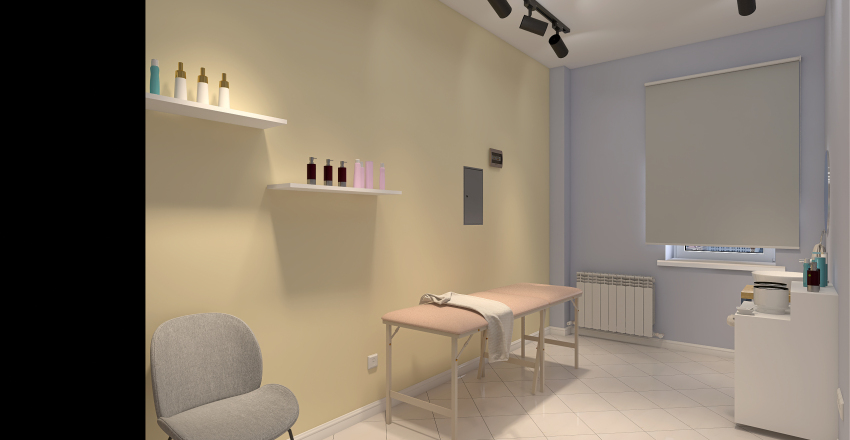 Салон красоты Interior Design Render