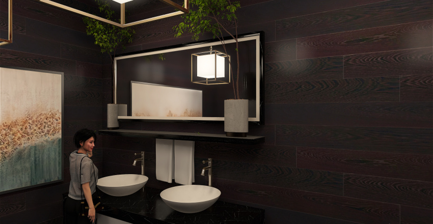 Coffee Interior Design Render