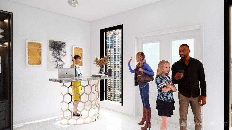 store Interior Design Render