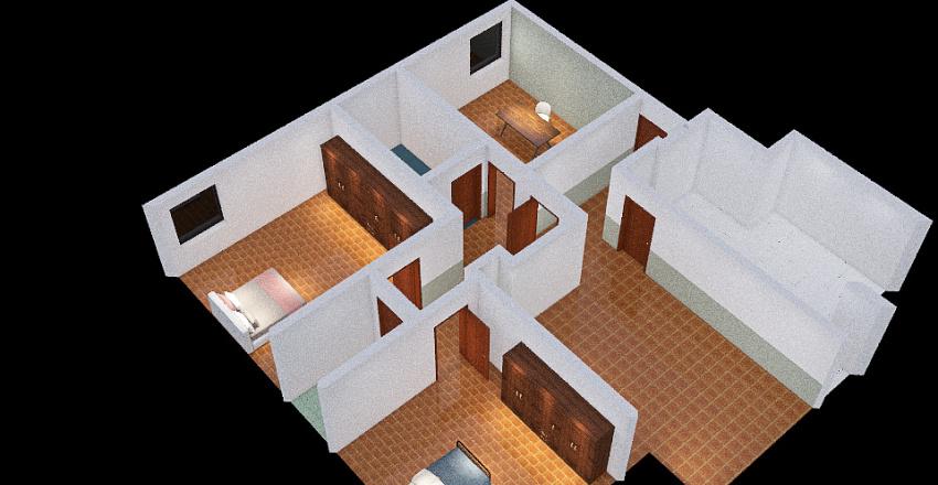 LIVORNO _MELAI Interior Design Render