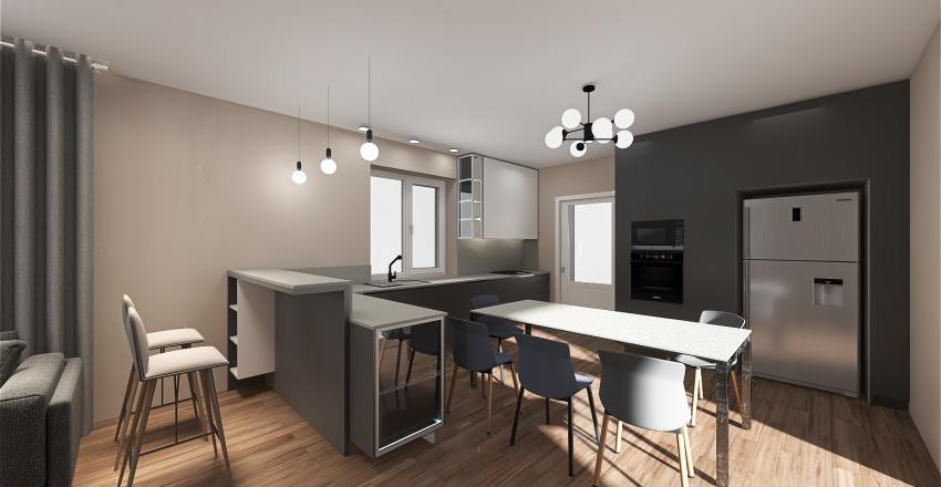 Copy of студия 3-2 Interior Design Render
