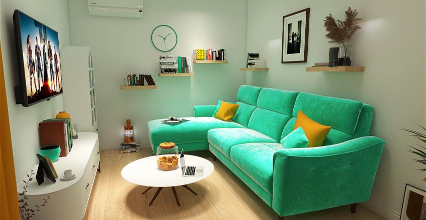 Pavla House Interior Design Render