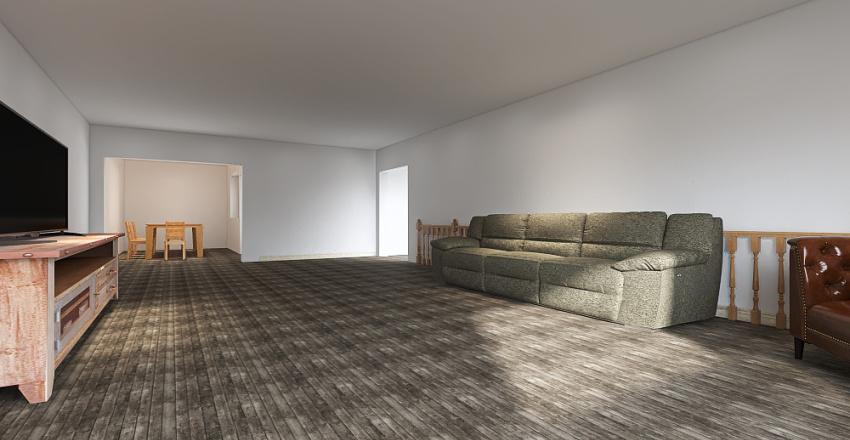 Cutillo. B living room/kitchen/dinning room Interior Design Render
