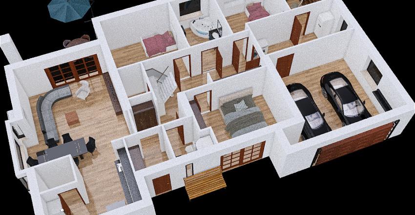 House square Interior Design Render