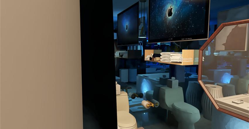 Bathroom Makeover Interior Design Render