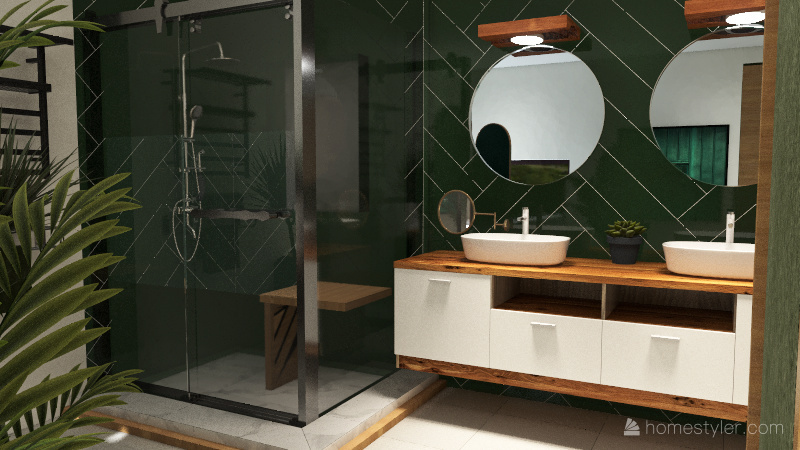 Bathroom Design Board Interior Design Render