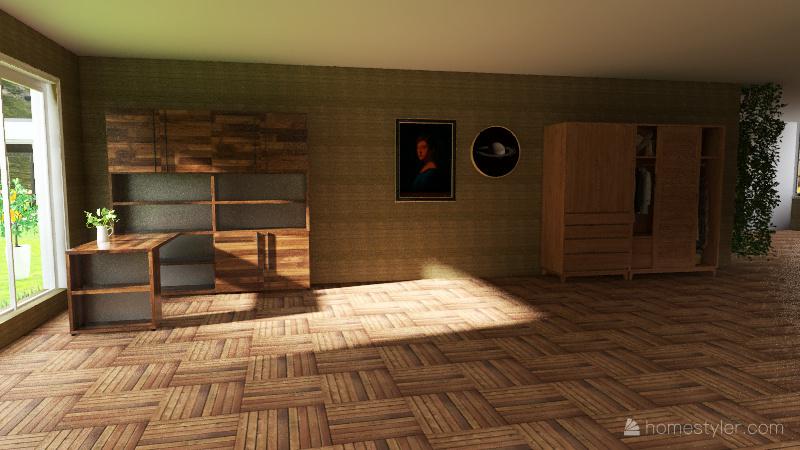 Casa_Sustentable Interior Design Render