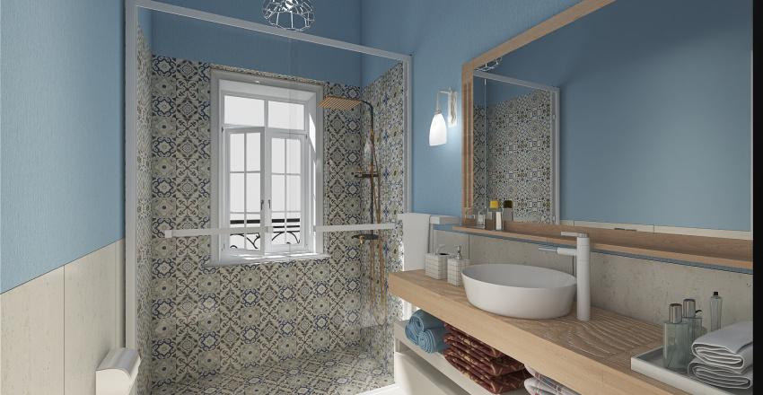 appartamento galleria genova Interior Design Render