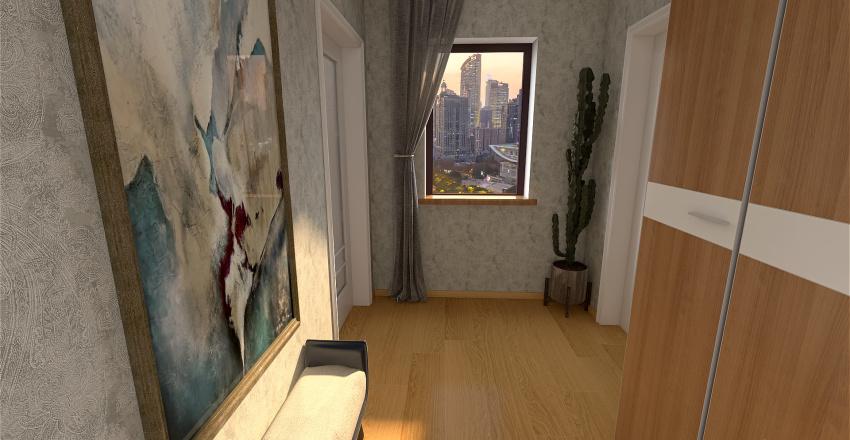 Attico in città Interior Design Render