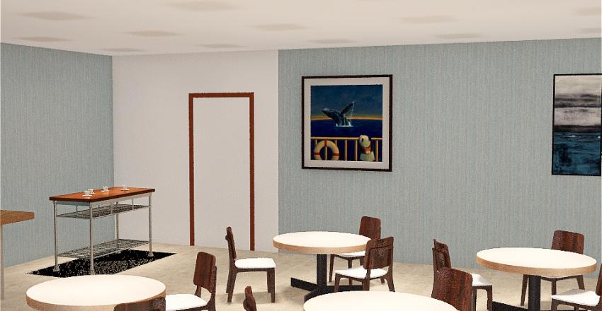 Coffee Shop Homestyler Interior Design Render