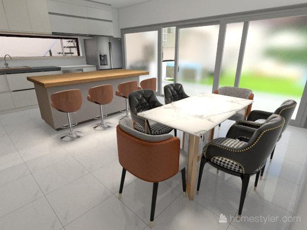 SaoDario151-BanheiroMasterFrontal Interior Design Render