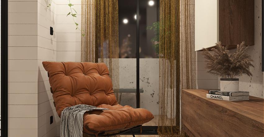 Loft 75 Sqm Interior Design Render