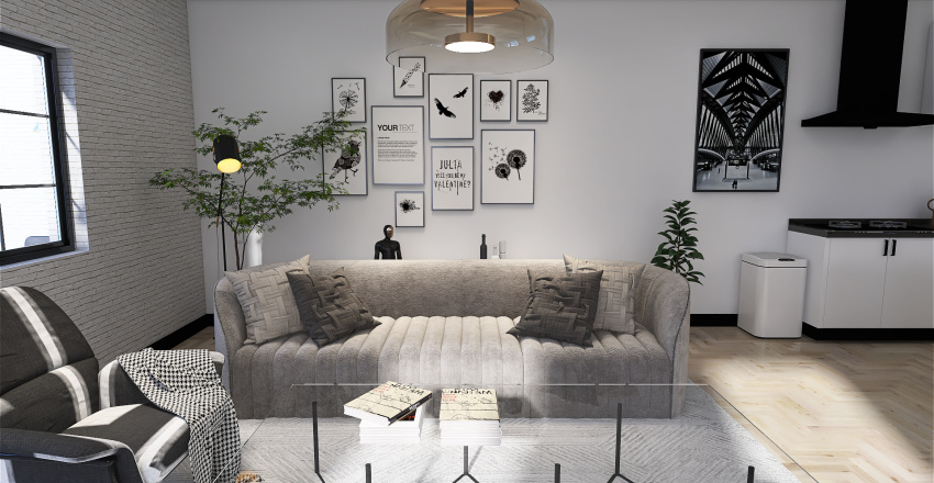 lake side Interior Design Render
