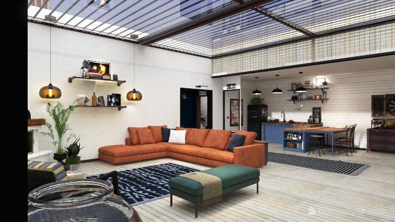 MESKEN Interior Design Render