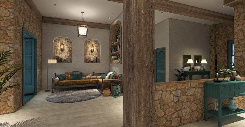 SUEÑOS EN EL MEDITERRANEO Interior Design Render