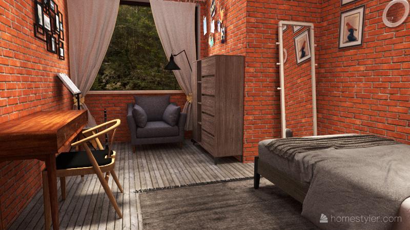 noah y su gran casa Interior Design Render