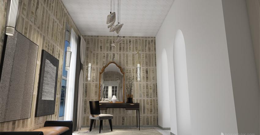 Italian Minimalism inspired Interior Design Render