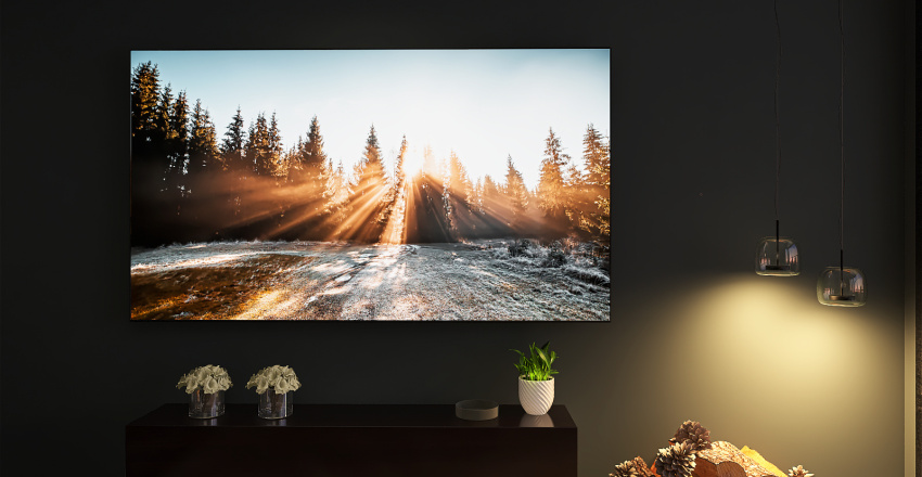Cozy Living Room Interior Design Render