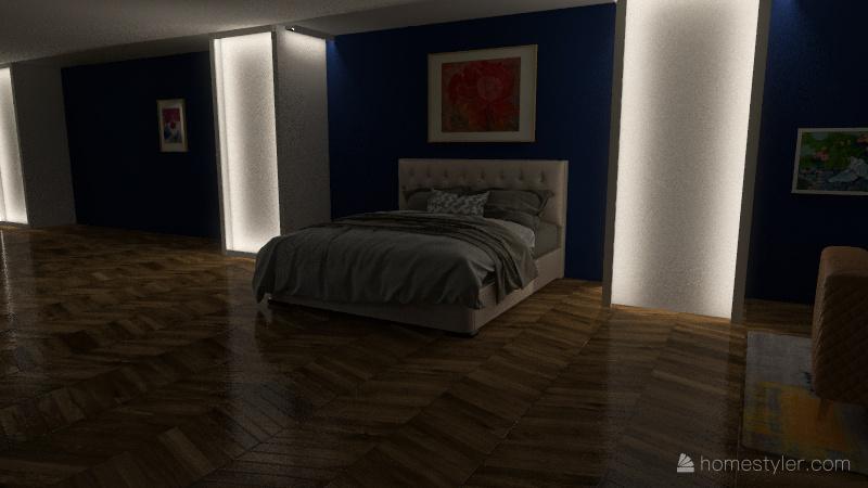 Bedroom #2 Interior Design Render